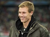 Bayern Munich defender Holger Badstuber is seen prior to the UEFA Champions league group F football match between Bayern Munich and Lille OSC at Allianz arena in Munich on November 7, 2012