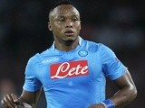 Napoli defender Juan Camilo Zuniga in action against Borussia Dortmund on September 18, 2013