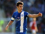 Tommy Rowe of Peterborough United during the Sky Bet League One match between Rotherham United and Peterborough United at The New York Stadium on September 28, 2013
