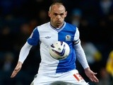 Danny Murphy of Blackburn in action during the npower Championship match between Blackburn Rovers and Bolton Wanderers at Ewood Park on November 28, 2012