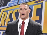 John Cena attends a press conference to announce that MetLife Stadium will host WWE Wrestlemania 29 in 2013 at MetLife Stadium on February 16, 2012