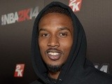 Professional basketball player Brandon Jennings attends the NBA 2K14 premiere party at Greystone Manor on September 24, 2013