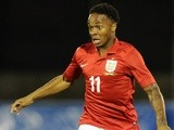 Raheem Sterling of England in action during the 2015 UEFA European U21 Championships Qualifying Group One match between San Marino U21 and England U21 on October 10, 2013