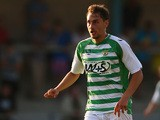Yeovil's Ed Upson in action against Torquay during a friendly match on July 16, 2013