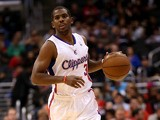 Los Angeles Clippers' Chris Paul in action against Utah Jazz on October 23, 2013