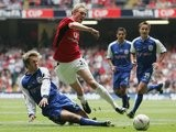 Despite having only broken into the senior side a year earlier, Fletcher started the 2004 FA Cup final against Millwall.
