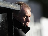 Coach Dean Richards of Newcastle Falcons looks on during the Aviva Premiership match between Newcastle Falcons and London Irish at Kingston Park on October 27, 2013