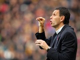 Sunderland's Manager, Gustavo Poyet during the Barclays Premier League match between Hull City and Sunderland at KC Stadium on November 02, 2013