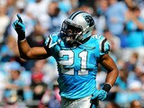 Mike Mitchell of the Carolina Panthers during their game at Bank of America Stadium on October 20, 2013
