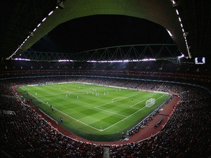 A general view during the UEFA Champions League last 16 round match between Arsenal and PSV Eindhoven at The Emirates Stadium on March 7, 2007