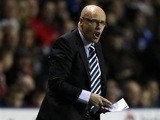 Leeds United manager Brian McDermott barks orders from the touchline on September 18, 2013