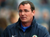 Gary Bowyer, the manager of Blackburn Rovers, looks on at Ewood Park on September 21, 2013
