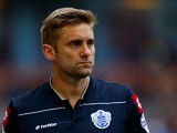 Robert Green of QPR watches on during the Sky Bet Championship match between Burnley and Queens Park Rangers at Turf Moor on October 26, 2013
