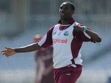 Shane Shillingford during a West Indies Net Session at Trent Bridge on May 23, 2012