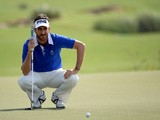 Alejandro Canizares of Spain on the in action during the first round of the DP World Tour Championship on November 14, 2013