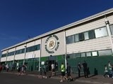 A generic shot of the outside of Huish Park, home of Yeovil Town, on July 19, 2013
