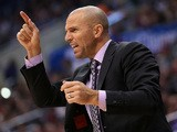 Head coach Jason Kidd of the Brooklyn Nets gestures in the game with the Los Angeles Clippers at Staples Center on November 16, 2013