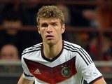 Thomas Muller in action for Germany against Italy on November 15, 2013.