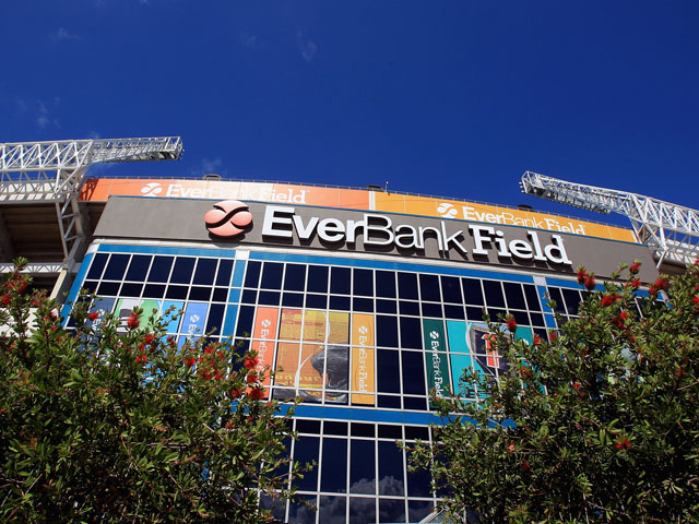 A general view of EverBank Field ahead of the Tennessee Titans versus Jacksonville Jaguars on September 11, 2011