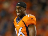 Rahim Moore of the Denver Broncos looks on during a game against the Oakland Raiders at Sports Authority Field Field at Mile High on September 23, 2013
