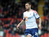 Craig Davies of Bolton attacks during the npower Championship match between Bristol City and Bolton Wanderers at Ashton Gate Stadium on April 13, 2013