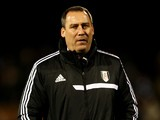 Fulham head coach Rene Meulensteen on the touchline during the match against Tottenham on December 4, 2013
