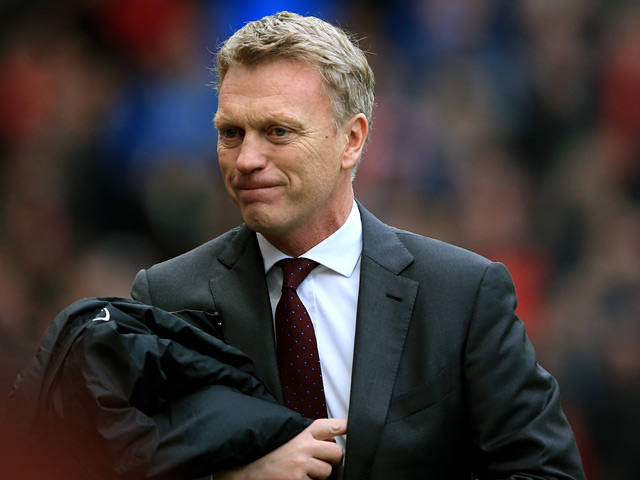 Man United manager David Moyes prior to kick-off against Newcastle on December 7, 2013