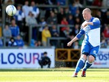 Garry Kenneth of Bristol Rovers in action during the npower League Two match between Bristol Rovers and Northampton Town at Memorial Stadium on October 6, 2012