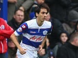 Yossi Benayoun of Queens Park Rangers makes his debut during the Sky Bet Championship match against Leicester City at Loftus Road on December 21, 2013