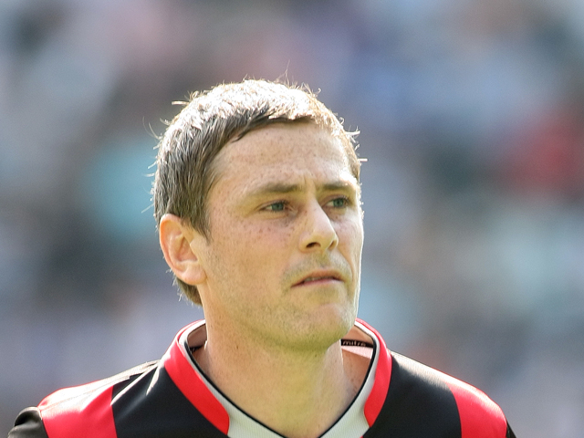 Gary Naysmith of Huddersfield Town in action during the npower League One match between MK Dons and Huddersfield Town at Stadium mk on April 22, 2011