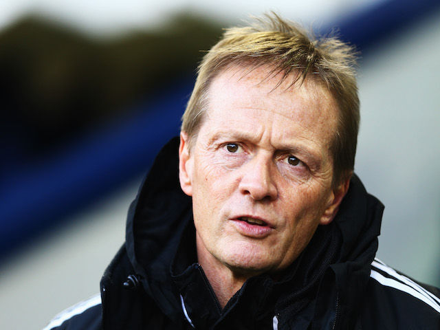 West Bromwich Albion caretaker manager Keith Downing looks on before the Barclays Premier League match between West Bromwich Albion and Hull City on December 21, 2013