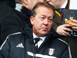 Alan Curbishley the Fulham first-team technical director looks on before the Barclays Premier League match between Hull City and Fulham at KC Stadium on December 28, 2013