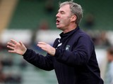 Plymouth Argyle manager John Sheridan gives instructions during the Sky Bet League Two match between Plymouth Argyle and Northampton Town at Home Park on November 2, 2013
