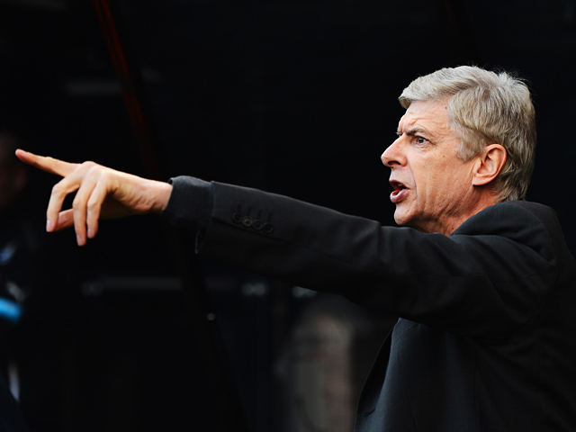 Arsenal manager Arsene Wenger on the touchline during the match against Newcastle on December 29, 2013