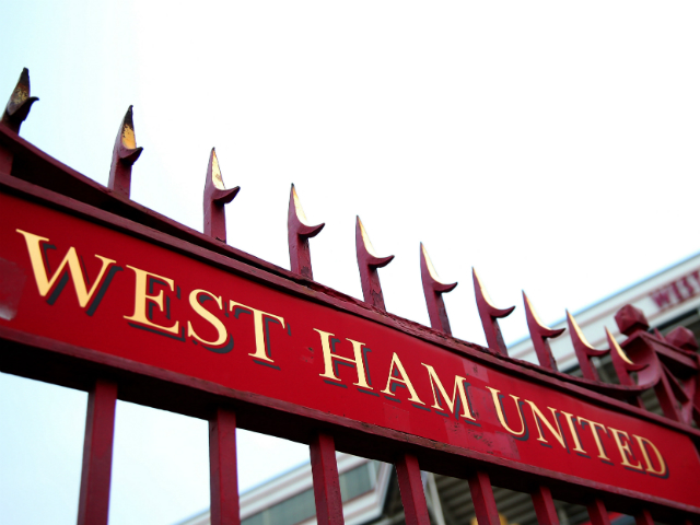 A general view outside the ground prior to the Barclays Premier League match between West Ham United and Arsenal at Boleyn Ground on December 26, 2013