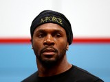 Audley Harrison during a media workout at the English Institute of Sport on April 24, 2013