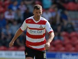 Richie Wellens of Doncaster during the Sky Bet Championship match between Doncaster Rovers and Blackpool at Keepmoat Stadium on August 03, 2013
