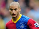 Adlene Guedioura of Crystal Palace in action during the Barclays Premier League match between Crystal Palace and Swansea City at Selhurst Park on September 22, 2013