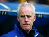 Ipswich manager Mick McCarthy looks on during his team's Championship match against Millwall on January 18, 2014