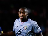 Raoul Loe of CA Osasuna during the La Liga match between FC Barcelona and CA Osasuna at Camp Nou on January 27, 2013
