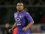 Anderson of ACF Fiorentina in action during the Serie A match between ACF Fiorentina and Genoa CFC at Stadio Artemio Franchi on January 26, 2014