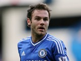 Juan Mata of Chelsea in action during the Barclays Premier League match between Chelsea and Cardiff City at Stamford Bridge on October 19, 2013