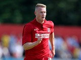 Michael Smith of Charlton Athletic in action during the Pre Season Friendly match between Welling and Charlton Athletic at Park View Road on July 6, 2013