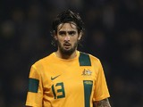 Rhys Williams of Australia during the International Friendly match between Canada and Australia at Craven Cottage on October 15, 2013
