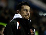 Blackpool manager Barry Ferguson looks on during the Championship match against Reading on January 28, 2014