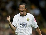 Gary Kelly of Leeds United in action during the Coca Cola Championship match between Norwich City and Leeds United at Carrow Road on August 27, 2005