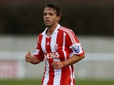 Stoke's Jamie Ness in action against Southampton during their U21s Premier League match on December 13, 2013