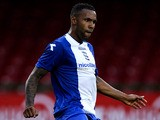 Birmingham's Kyle Bartley in action against Swindon during a friendly match on July 18, 2013