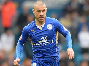 Kevin Phillips of Leicester City during the Sky Bet Championship match between Leeds United and Leicester City at Elland Road on January 18, 2013