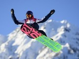 Great Britain's Billy Morgan competes in the Men's Snowboard Slopestyle qualification at the Rosa Khutor Extreme Park during the Sochi Winter Olympics on February 6, 2014